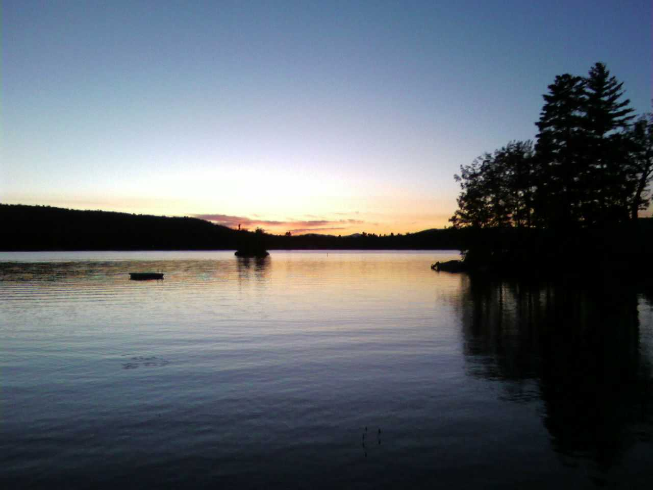 Sunset on Province Lake