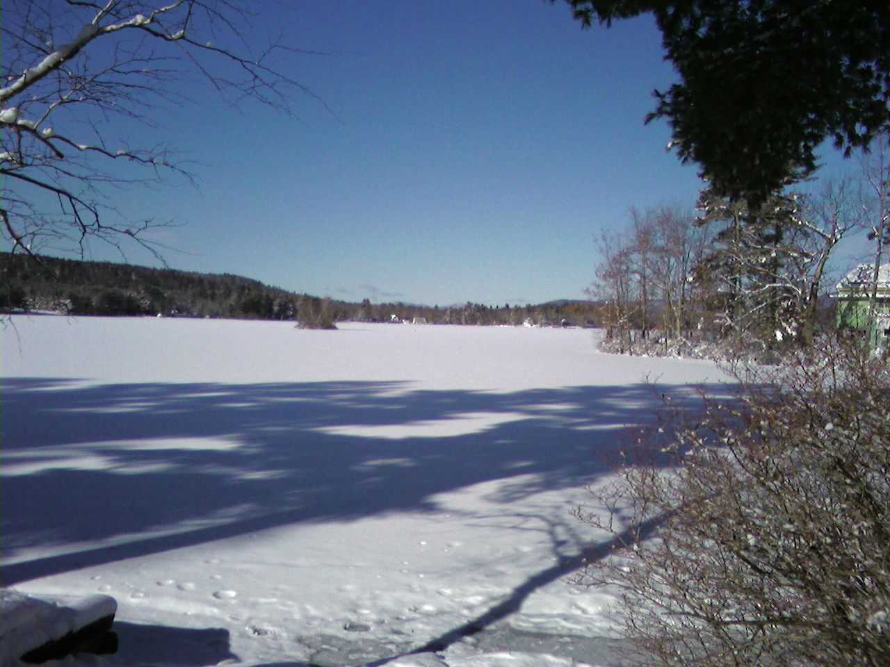 Winter on Province Lake